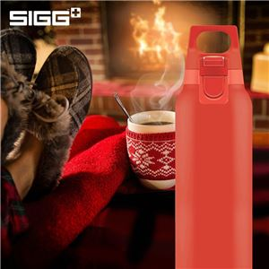 SIGG ステンレス製ボトル ホット&コールド ワン ルシッド(スカーレット 0.5L)