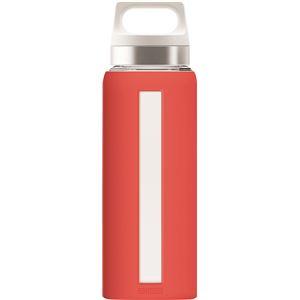 SIGG 耐熱硬質ガラス製ボトル ドリーム(スカーレット 0.65L)