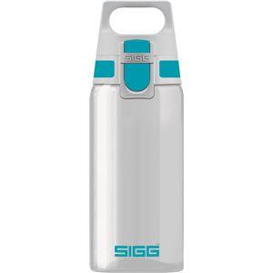 SIGG ワンタッチ式トライタン製ボトル トータルクリア ワン(アクア 0.5L)