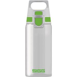 SIGG ワンタッチ式トライタン製ボトル トータルクリア ワン(グリーン 0.5L)