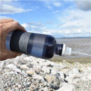 SIGG 耐熱性ポリプロピレン製ボトル ヒーロー スクイーズボトル(アントラサイト 0.6L)