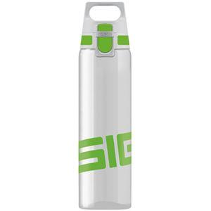 SIGG ワンタッチ式トライタン製ボトル トータルクリア ワン(グリーン 0.75L)