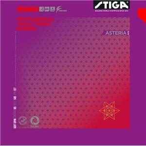 STIGA(スティガ) 裏ソフトラバー ASTERIA S(アステリア S) RED 中厚
