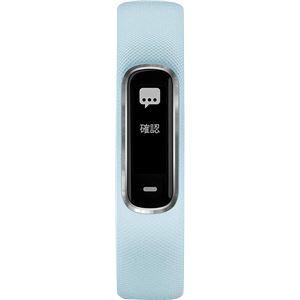 GARMIN(ガーミン)ライフログ vivosmart4 Blue Silver レギュラー【日本正規品】