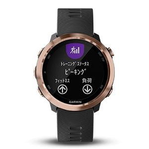 GARMIN(ガーミン)ForeAthlete 645Music Rose Gold【日本正規品】