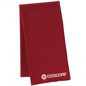 coolcore(クールコア)SUPER COOLING TOWEL スーパーコーリングタオル ピンクレッド(赤)