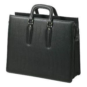 ビジネスバッグ 縦310×横385×厚さ120mm BT-61 黒 - 拡大画像