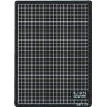 カッティングマット CM-3011 再生PVC 300×220×3mm 黒/黒