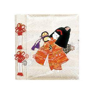 ナカバヤシ(株) フエルタンジヨウ/L/キヨウニンギヨウ/オンナノコ 【京人形 アルバム誕生用】