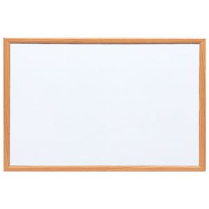 ナカバヤシ ウッドホワイトボード W900×H600 WBM-9060NMナチュラル木目