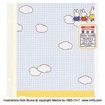 (業務用セット)ナカバヤシ プラコートアートフル台紙 ディック・ブルーナミッフィーチェック柄 アA-LR-5-4 (5枚組)【×5セット】
