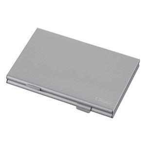 (業務用セット) Digio2 ダブルタイプメモリーカードケース MCC-1100SL シルバー【×5セット】 h01