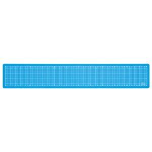 (業務用セット) 折りたたみカッティングマット A2 1/4サイズ CTMO-A201-SB スカイブルー【×5セット】