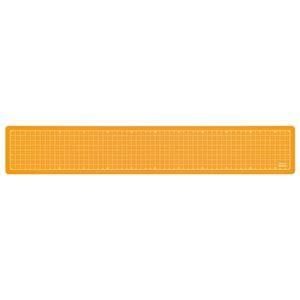 (業務用セット) 折りたたみカッティングマット A2 1/4サイズ CTMO-A201-OR オレンジ【×5セット】