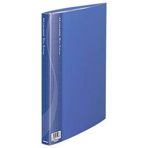 (業務用セット) クリアバインダー A4 15P CBM1032B-N ブルー【×5セット】