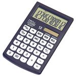 (業務用セット) 電卓 モノカラー ブラック ECH-2101T-D【×5セット】