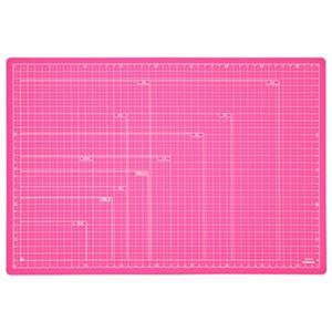 (業務用セット) 折りたたみカッティングマット A3サイズ CTMO-A3-P ピンク【×3セット】