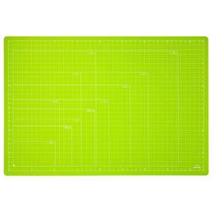 (業務用セット) 折りたたみカッティングマット A3サイズ CTMO-A3-G グリーン【×3セット】
