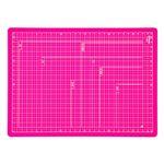 (業務用セット) 折りたたみカッティングマット A4サイズ CTMO-A4-P ピンク【×5セット】