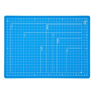 (業務用セット) 折りたたみカッティングマット A4サイズ CTMO-A4-SB スカイブルー【×5セット】