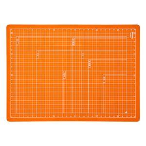 (業務用セット) 折りたたみカッティングマット A4サイズ CTMO-A4-OR オレンジ【×5セット】