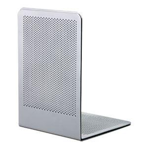 (業務用セット)ブックエンドPタイプMシルバーBE-P201SM【×5セット】