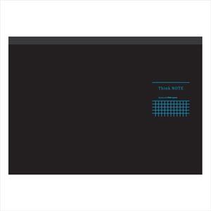 (業務用セット)ナカバヤシA4サイズ・ヨコ・ロジカル・シンクノートRP-A402DB-ブラック・ブルー【×5セット】