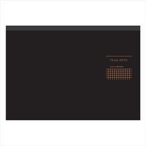 (業務用セット)ナカバヤシA4サイズ・ヨコ・ロジカル・シンクノートRP-A402DN-ブラック・グレー【×5セット】