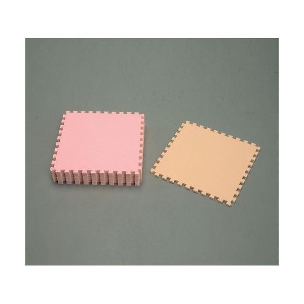 アイリスオーヤマ ジョイントマット (カラー) ピンク/ベージュJTM-62 CLR(カラー)