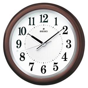 SEIKO(セイコー) 掛時計 防災電波掛時計 KX351B 1個 - 拡大画像