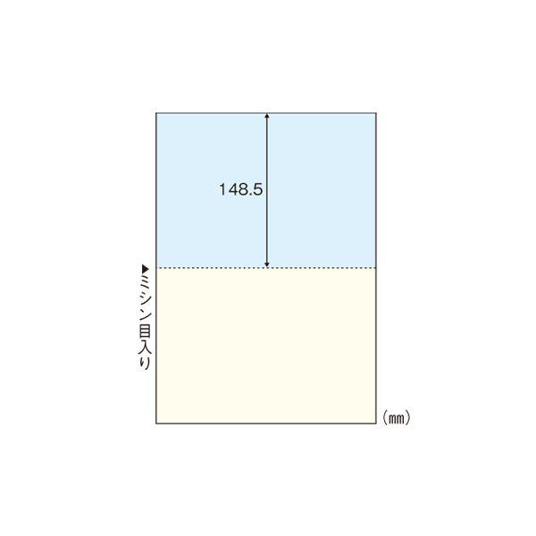 (業務用セット) ヒサゴ マルチプリンタ帳票 A4判2面 カラータイプ BP2010 100枚入 【×2セット】f00