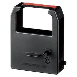 (業務用セット) NIPPO インクリボン R-2 黒 赤 1個入 【×2セット】 h01