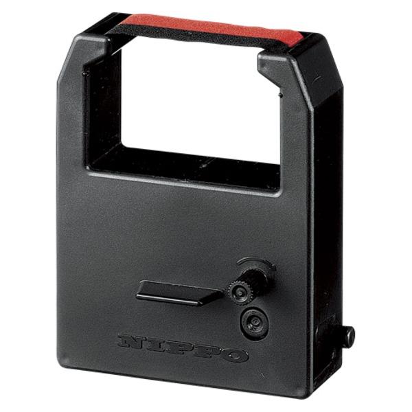 (業務用セット) NIPPO インクリボン R-2 黒 赤 1個入 【×2セット】f00