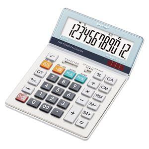 (業務用セット) シャープ 電卓 EL-S752K 1台入 【×2セット】 - 拡大画像