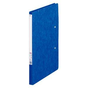 (業務用セット)リヒトラブパンチレスファイルZ式B5判タテ型(B4・2ツ折)F-302藍1冊入【×5セット】
