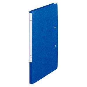 (業務用セット)リヒトラブパンチレスファイルZ式A4判タテ型(A3・2ツ折)F-307-5藍1冊入【×5セット】