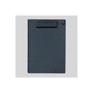 (業務用セット) オープン クリップボード 再生ABS樹脂製 B6判タテ型 CB-400-BK 黒 1枚入 【×10セット】