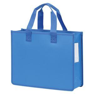 (業務用セット) ノータム オフィス・トートバッグJ A4判 UNT-A4J#36 ブルー 1個入 【×3セット】 - 拡大画像