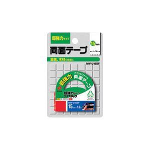 (業務用セット) ニチバン ナイスタック(R) 超強力タイプ NW-U15SF 1巻入 【×5セット】