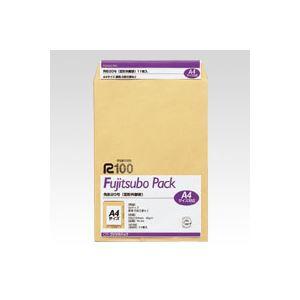 (業務用セット) 藤壷クラフトパック封筒 クラフト製・パック入 PK-A4 11枚入 【×10セット】