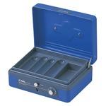 (業務用セット) カール キャッシュボックス CB-8200-B ブルー 1台入 【×2セット】