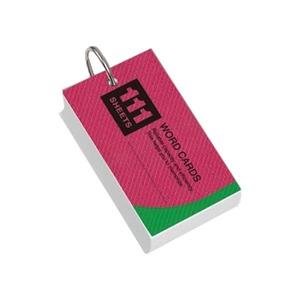 (業務用セット) レイメイ藤井 単語カード WD12 表紙色:アソート(青、黄、赤) 1個入 【×10セット】