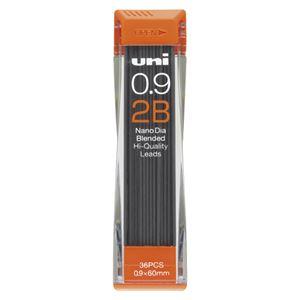 (業務用セット) 三菱鉛筆 ユニ ナノダイヤ 0.9mm芯(36本入) U09202ND-2B 【×10セット】