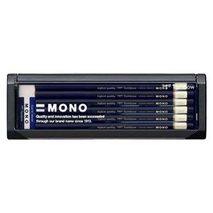 (業務用セット) トンボ鉛筆 鉛筆 製図用 MONO-HB 12本入 【×2セット】