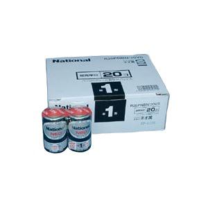 (業務用セット)パナソニックマンガン乾電池パナソニックネオ(黒)オフィス電池R20PNBN/20VS(20本入)【×3セット】