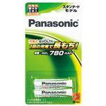 (業務用セット) パナソニック 充電式ニッケル水素電池 EVOLTA BK-4MLE/2B(2本入) 【×3セット】