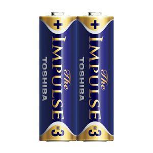 (業務用セット)東芝TOSHIBAアルカリ乾電池ザ・インパルスシュリンクパックLR6HS2KP2本入【×10セット】