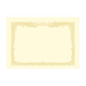 (業務用セット) OA賞状用紙 クリーム賞状用紙・縦書き 10-1087 10枚入 【×3セット】 h01