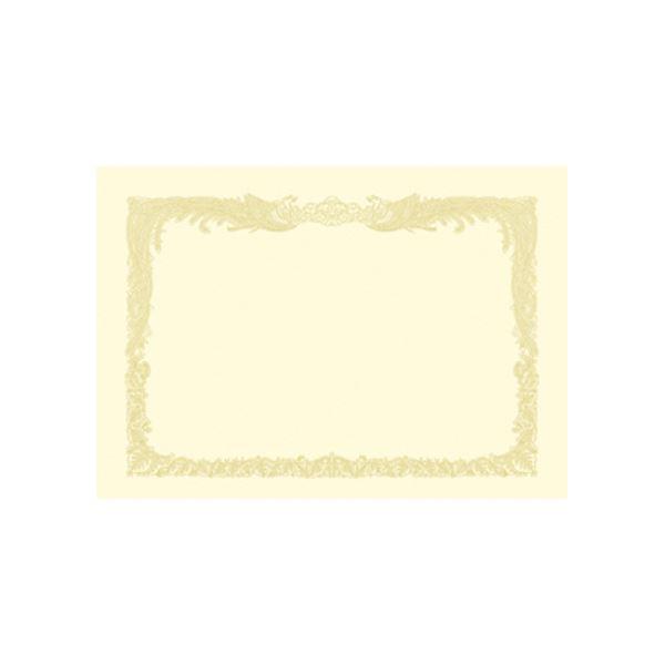 (業務用セット) OA賞状用紙 クリーム賞状用紙・縦書き 10-1167 100枚入 【×2セット】f00