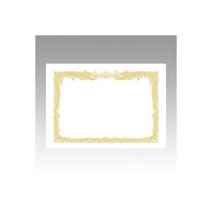 (業務用セット) OA賞状用紙 白上質賞状用紙・縦書き 10-1060 10枚入 【×5セット】 h01